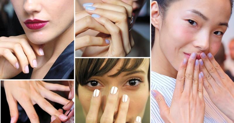 Nail it tjejer med nagellack