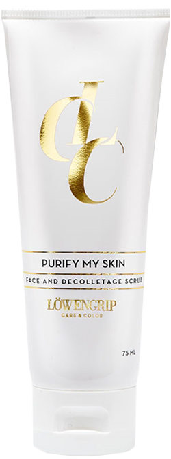 Löwengrip Care & Color Purify My Skin Face and Decolletage Scrub