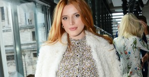 Bella Thorne på London Fashion Week