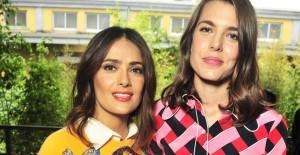 Salma och Carlotte på Milano Fashion Week