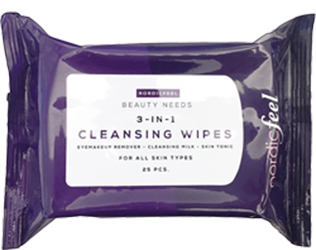 3-in1 Cleansing Wipes