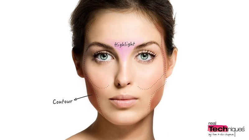Real Techniques Contouring