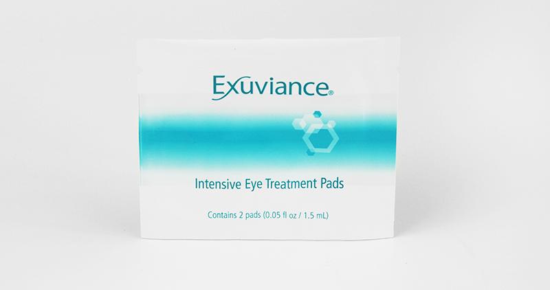 Exuviance hudvård ögon