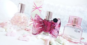 Söta parfymer Bon Bon, Lacoste, Pink Sugar, Ariana Grande