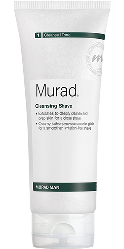 Cleansing shave