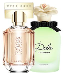 Blommiga och fruktiga parfymer