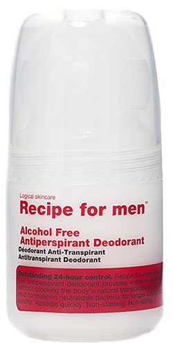 Antiperspirant Deodorant Alcohol Free Recipe for men