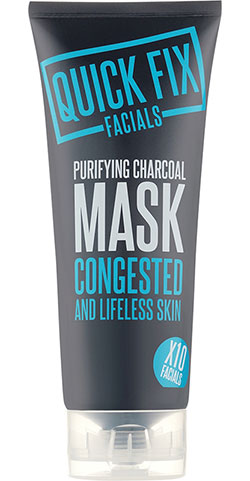 Mud mask, charcoal, lermask, quick fix