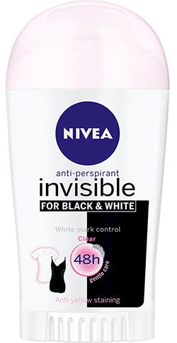 Invisible Black and White Clear Nivea