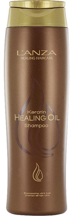 Keratin healing oil, Schampo