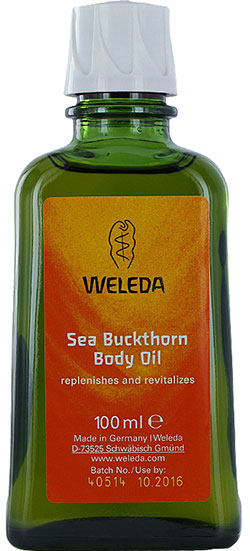 Weleda, Sea Buckthorn Body Oil, kroppsolja,
