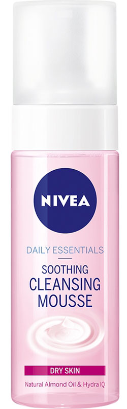 Nivea Daily Essentials Dry Skin Soothing Cleansing Mousse