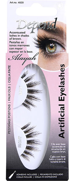 Artificial Eyelashes Alayah Depend