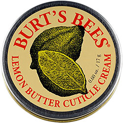 Cuticle Cream lemon butter burt's bees