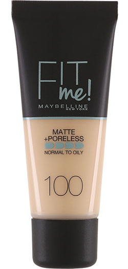 Fit Me Matte & Poreless Foundation Maybelline