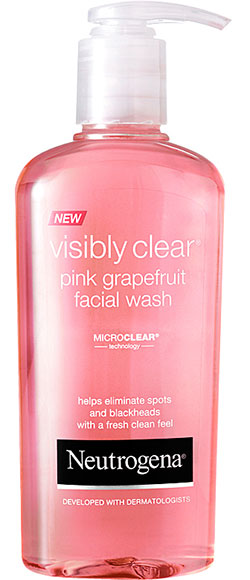 Visibly Clear Pink Grapefruit Facial Wash Neutrogena