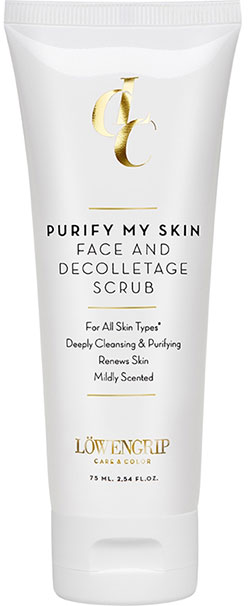 Face & Decolletage Scrub Löwengrip care & color