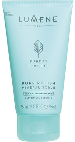 Puhdas Pore Polish Mineral Scrub Lumene