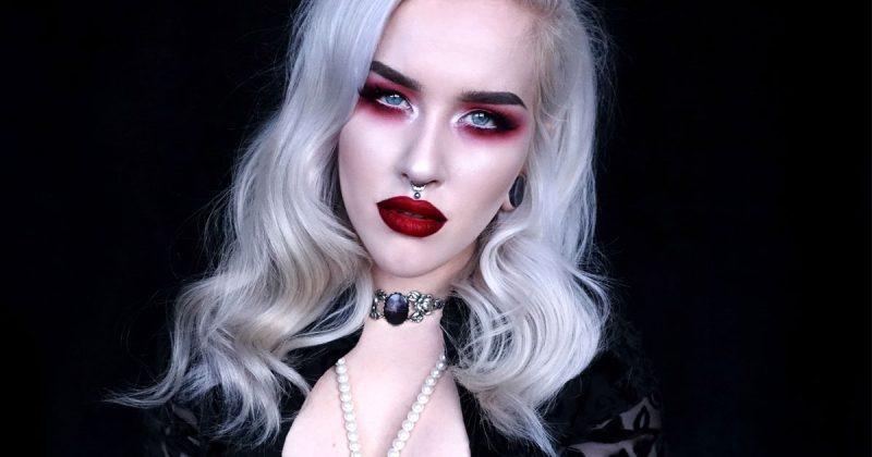 vampyr sminkning steg för steg
