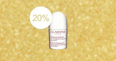 Clarins roll on deodorant