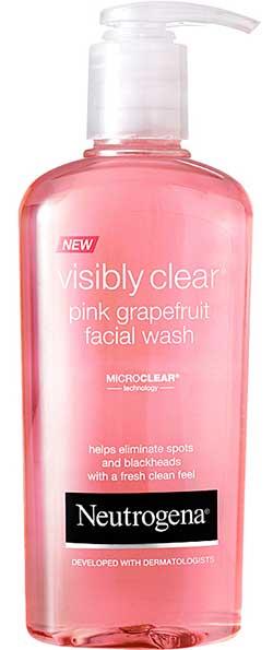 Pink Grapefruit Facial Wash neutrogena