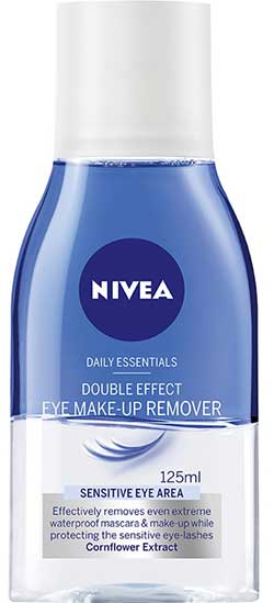 Double Effect Eye Make-Up Remover nivea