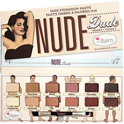 Nude Dude Eyeshadow Palette The balm
