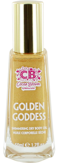 Shimmering Dry Body Oil Cocoa Brown