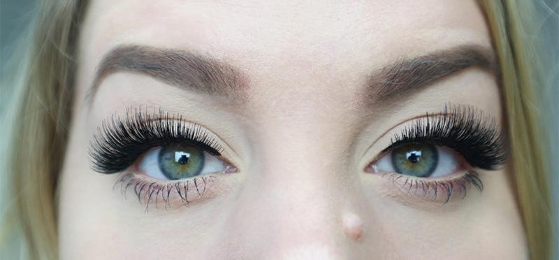 lösögonfransar utan eyeliner
