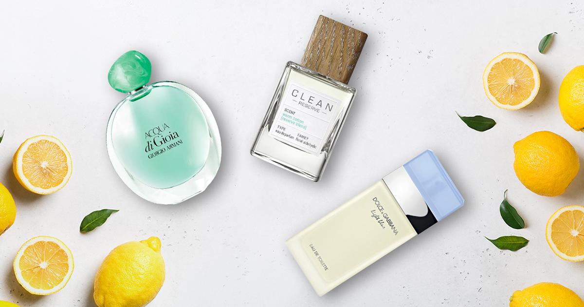 parfym lätta dofter