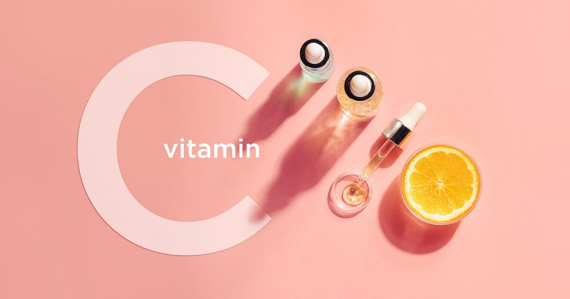 C-Vitamin Serum och citron